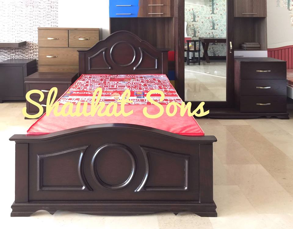 . Single Bed Set Design 2  Single Bed   Double Bed    Shaukat Sons